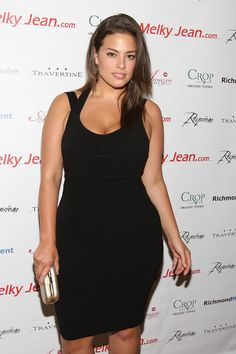 pic: model Ashley Graham   This is one of the most beautiful women in the world & she is a size 16 -  my hero!!