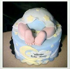 Baby bum cake!
