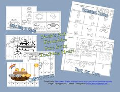 Free Set of Noah's Ark Printables for Preschool and Kindergarten