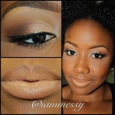 natural Afri  and black Women on women  Pinterest black Dark  Skin, skin on makeup Black Makeup  for