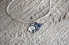 Go Indianapolis Colts! Handmade Colts Football Charm Necklace from my Etsy store $8