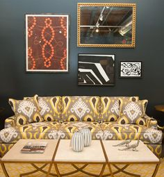 Eclectic pairings to transform a room