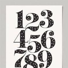 Free Numbers Print
