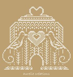 Love Birds Cross Stitch Project - so simple and beautiful