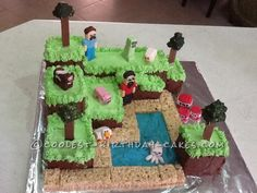 Coolest Minecraft Cake...