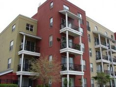 Art Center Lofts in Downtown Tampa. Located by the Hillsborough River and the Straz Center.