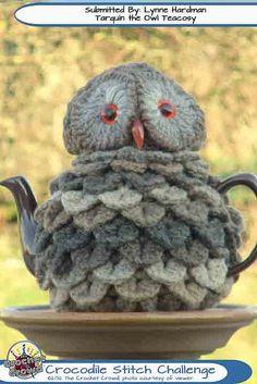 Crocodile-Stitch-Challenge-2 by The Crochet Crowd®, via Flickr