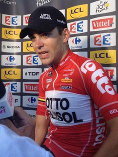 """Le Tour de France @letour .@tonygallopin : """"Je n'aurais jamais pu imaginer ça / Never could i have imagined this"""". #TDF pic.twitter.com/UqSs02jgnq"""