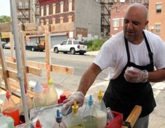 If you're in Ocean Hill-Brownsville on a scorching day look for Edwin, who sells shaved ices from his street cart.  Edwin is a second-generation ices man — he's following in his father's footsteps — and is a gourmet at shaving a block of ice and transforming it into a cooling summer treat. Try his favorite: tamarind and pineapple, with a splash of condensed milk!  Become part of the neighborhood...BECOME A HOMEOWNER!