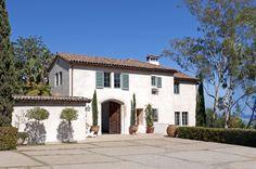 """1924 Carlton Winslow designed Italian Villa """"La Quinta"""", Montecito, California"""