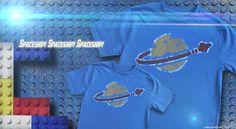 Benny the Spaceman Tee from @DarkBunnyTees - Spaceship! Spaceship! SPACESHIP! - £18