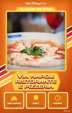 Walt Disney World Planning Pins: Via Napoli Ristorante E Pizzeria