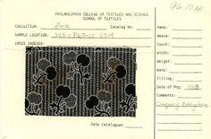 Cherry print on cotton. Company: Eddystone. 1883.