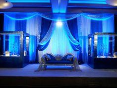 Eldorado Country Club - Wedding Reception Ballroom in Blue  www.eldoradocc.com