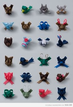 Cute animals to add to hair bows
