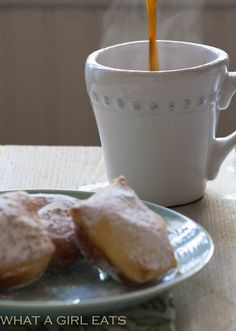 A Taste Of New Orleans…Homemade Beignets.