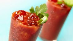Try a virgin Bloody Mary, and skip the alcohol to keep your heart rhythm steady.