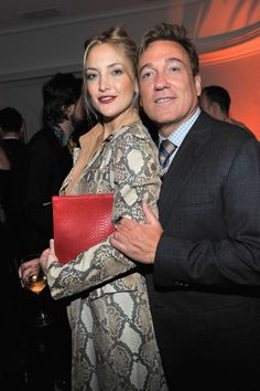 W Celebrates the 2014 Golden Globe Awards - Kate Hudson and Kevin Huvane. Photo by Getty Images.
