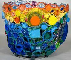 Julie Kornblum :: See her work live at Muzeo in Anaheim through August 31, 2014 -Transcending Trash
