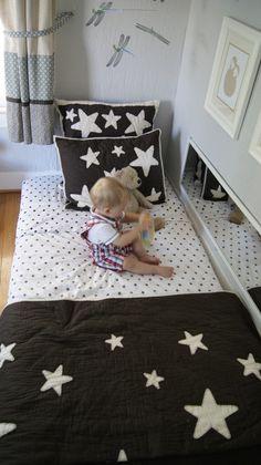 My Kid Sleeps on the Floor: Montessori Floor Bed