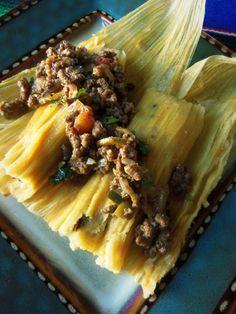 Tamales de Picadillo (Ground Beef Tamales) HispanicKitchen.com