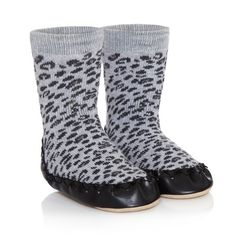 Neat shop redesigning Swedish slipper socks for kids + babies with modern patterns. They're fabulous!