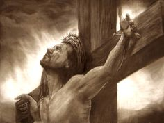 jesus christ on the cross drawings | Jesus Christ On The Cross Drawings