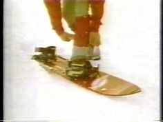 Juicy Fruit Snowboard Commercial from the 80's