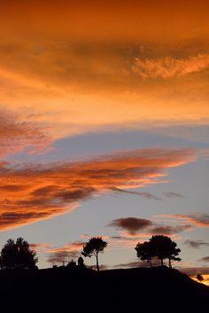 This moment... entre chien et loup... -- #sunset #silhouette
