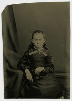 Girl and her diary. Undated