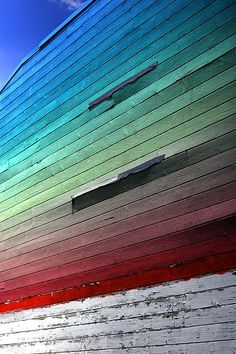 painted stripes in colorado. #coloreveryday