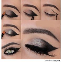 Fashionable Party Eye Makeup Tutorials for 2015 foto