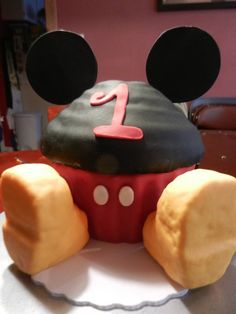 giant cupcakes - mickey mouse - Google Search