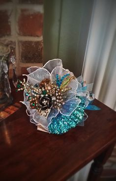 Custom Order for Prom or Bridal Antique Brooch by KAArtisticEvents, $110.00
