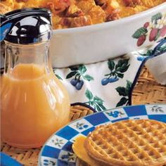 Dutch Syrup Recipe - mmmm my dad used to make this when we ran out of maple!