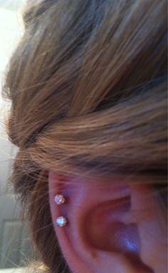 Ear piercing! It's a must!
