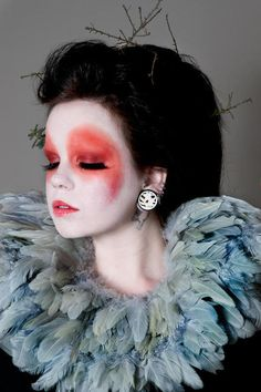 circus - dreamy clown makeup - character