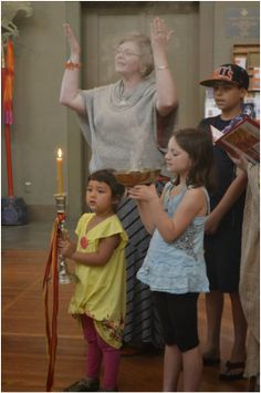 Amazing list of resources on including children in worship