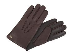 UGG Wrangell touch screen leather cashmere glove
