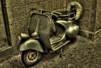 Vintage Vespa.
