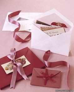 Keepsake Envelopes to cherish the trinkets, old letters & treasured notes.