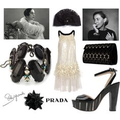 Turban & Feathers, created by leiastyle on Polyvore