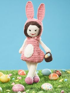 Easter Lily Doll | Yarn | Free Crochet Patterns | Yarnspirations