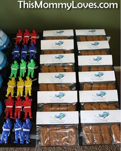 First Birthday Party Ideas - Time Flies - Airplane theme - Biscoff Cookie Favors
