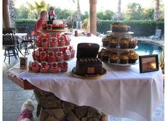 Cigars, cake, memories and a good time! Birthday Party Ideas   Photo 1 of 22