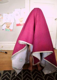 sheet quilt. aka: florida bedding.