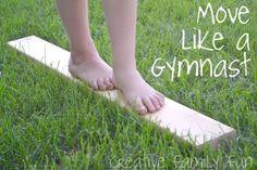 Bloggers Go Olympics: Move Like a Gymnast ~ Creative Family Fun