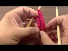 how to knit an I-cord