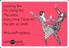 """""""The Pen Dance."""" #LOL #Nurses #NurseHumor"""