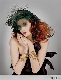 Mardi Gras Colors :) #FlorenceWelch #FlorenceandtheMachine #Vogue